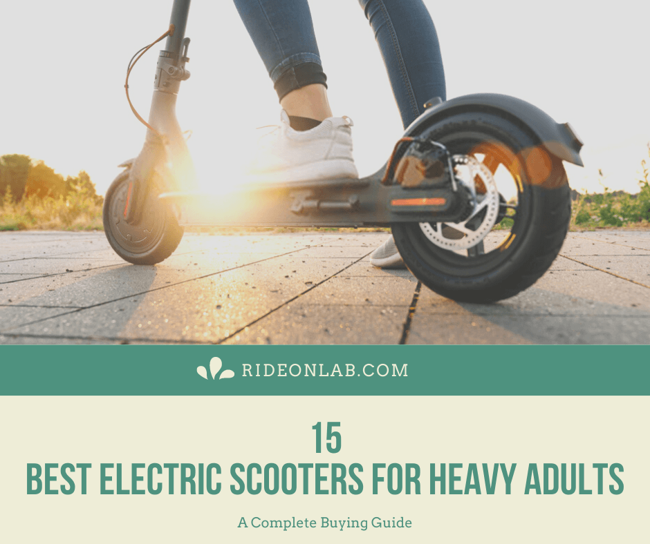 best-electric-scooters-for-heavy-adults