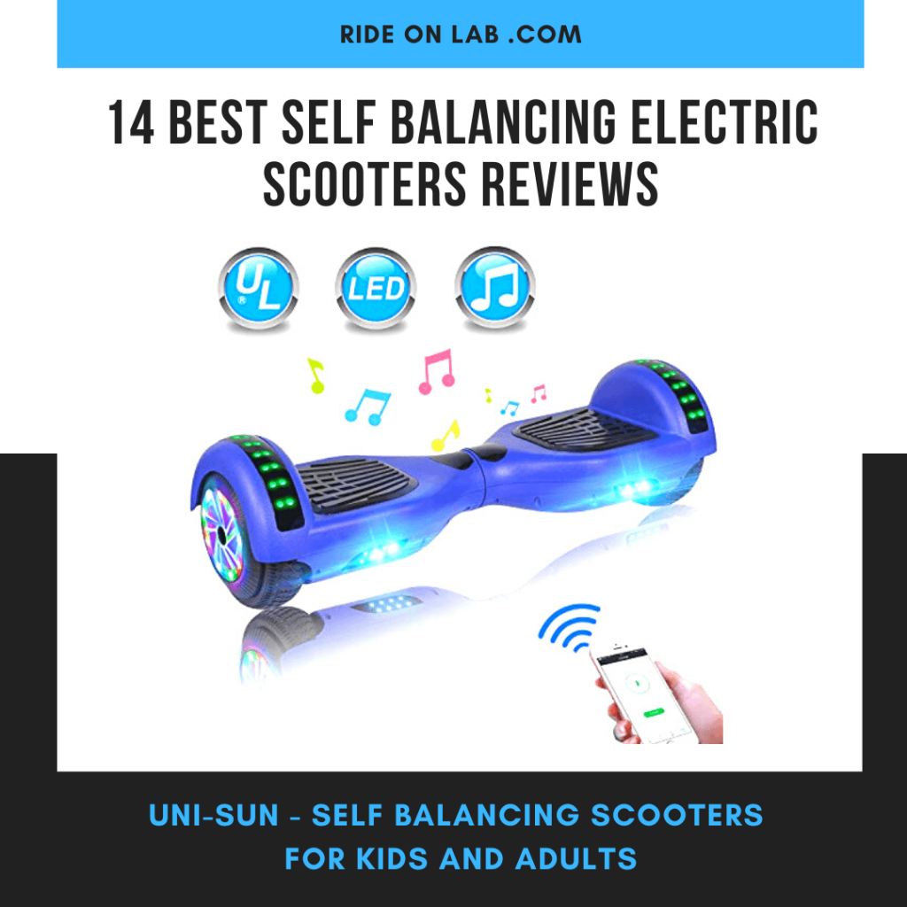 self balancing electric scooters with bluetooth