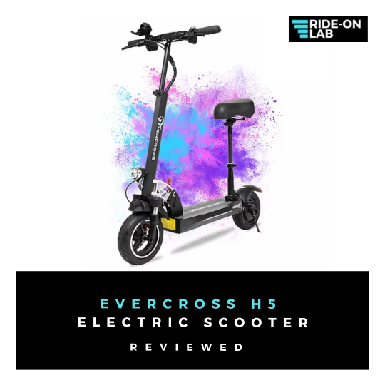 evercross electric scooter review