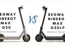 ninebot max g30 vs g30lp