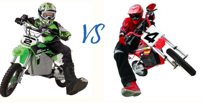 Razor MX500 vs SX500