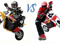 Razor MX500 vs Razor mX650